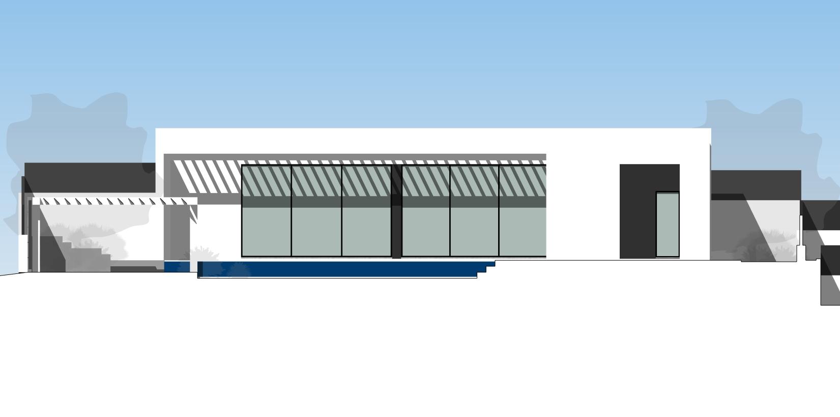2021-02-09_Torrealquería P8 – Viviendas aisladas y pareadas alzados – Sección – Alzado Sur