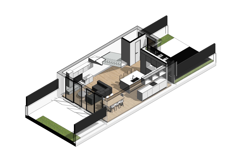 2021-01-14_Torrealqueria P9 – Viviendas adosadas – Plano – 03 – Tipo-PB Axo